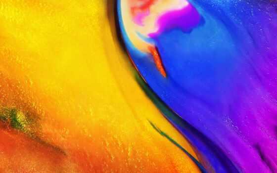 abstract, resolution, первую, colorful, ноутбук, desktop, blue