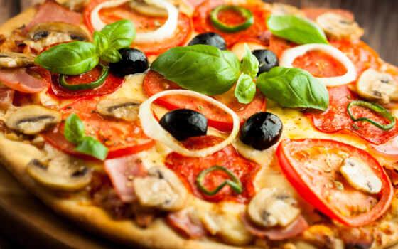 пицца, доставка, вкусно, рецепт, подготовка, улыбка, time, italian, meal, пиццерия
