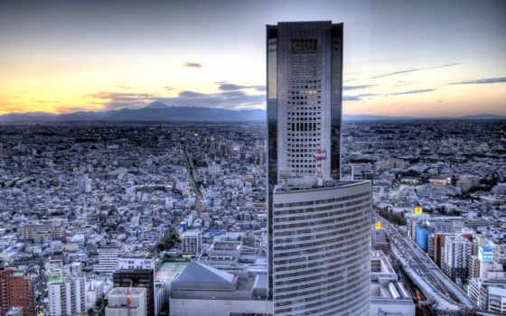 небоскрёб, город