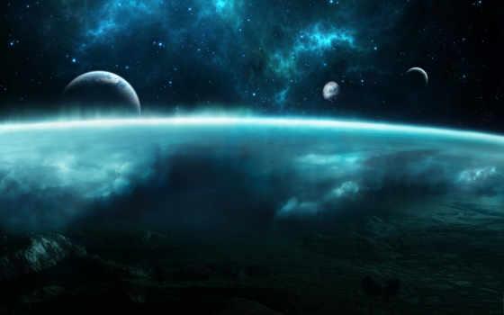 космос, планеты, земля, атмосфера, картинка, код,