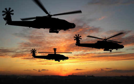 apache, ah, boeing, военные, helicopters, attack,