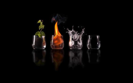 air, ecran, feu, earth, eau, water, terre, огонь,