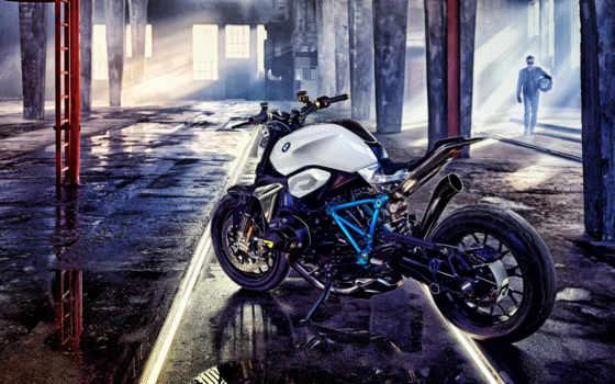 bmw, roadster, concept, мотоцикл, revolution,