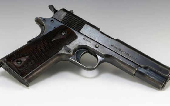 colt, пистолет,