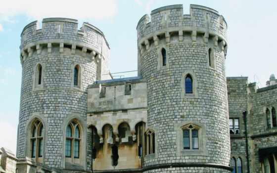 windsor, castle, entrance