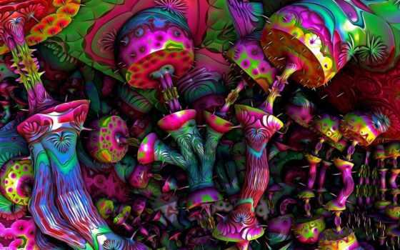 психоделика, house, diamond, картинка, декор, комната, mushroom