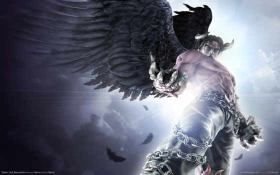 tekken, devil, jin, игры, dark, resurrection, game, games,