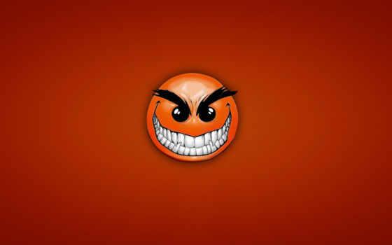 зубастый, смайл, улыбка, красный, хитрый, angry, картинку, facebook, cover, desktop, this, download, картинка,