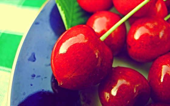 макро, ягоды