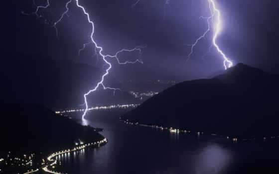 молнии, lightning Фон № 25801 разрешение 1920x1080