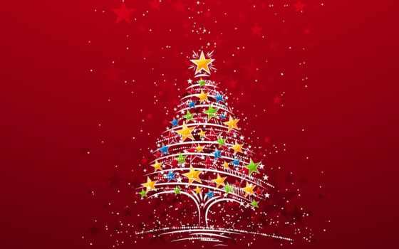 год, новый, рождество