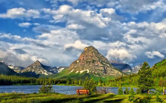 природа, весна, пейзажи -, природы, winter, осень, summer, прекрасные, страница, озера,