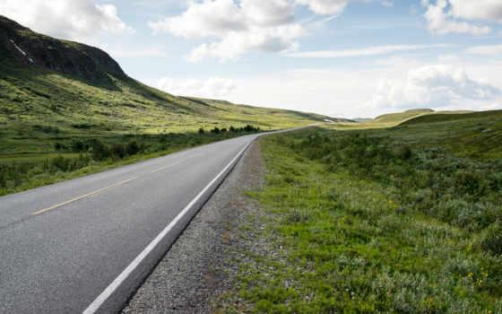 норвегия, дорога, stock, north, cape, desktop, images,