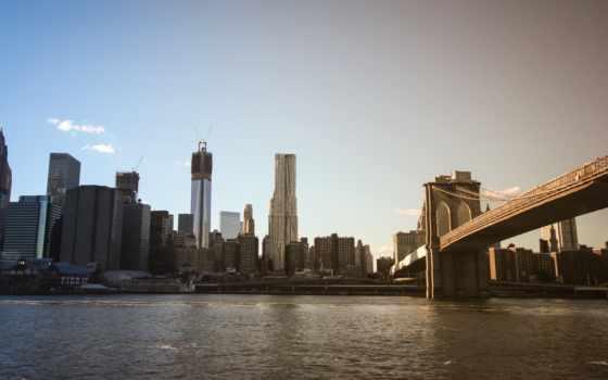 мост, бруклин, телефон, desktop, город, new, london, vintage, sibiu,
