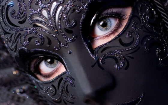 masks, masquerade, women