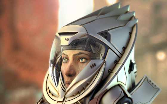 sci, астронавт, картинка