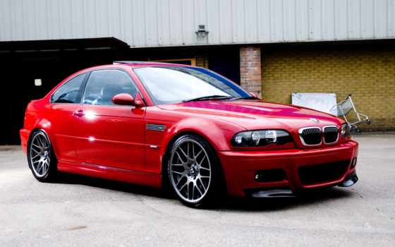 bmw, red, coupe, building, спортивное,  м3, e46, красные