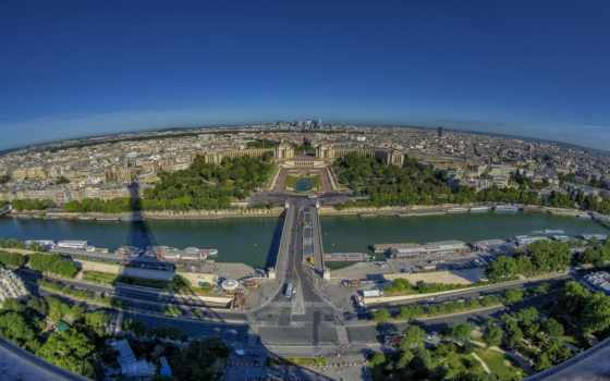 french, париж, seine, франция, eiffel, города, река, туры, башня,