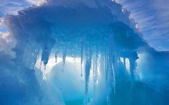 иосифа, франца, ледники, land, north, pole, дня, айсберги, земли,