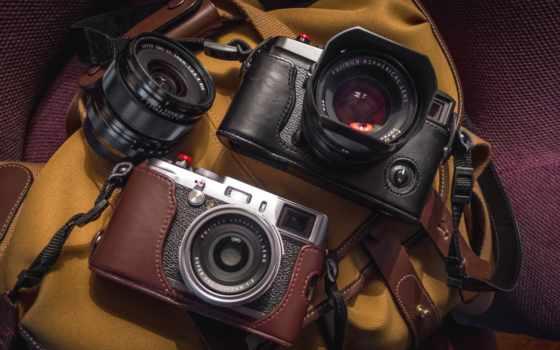 фотоаппарат, объектив, ретро