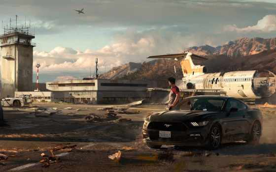 need, payback, скорость, игры, mustang, games, art, ford, nfs,