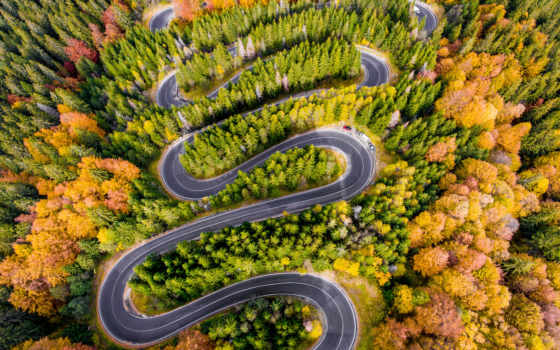 дорога, winding, stock, free, взгляд, images, фото, aerial,