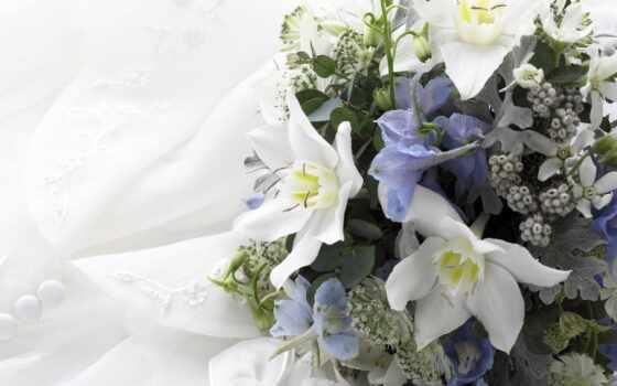 свадебный, цветы, wed, birth, postcard, день, букет, task