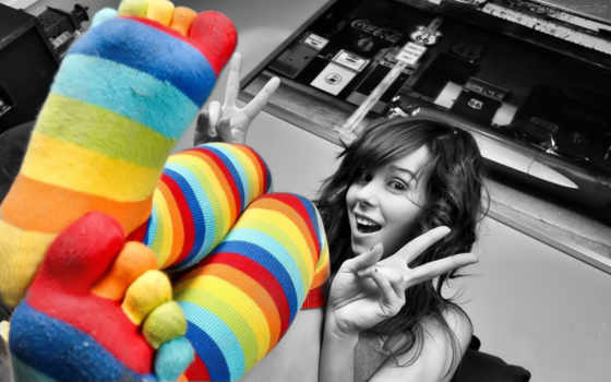 ,цветные,носки,гольфы,радость,