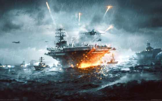 battlefield, naval, strike