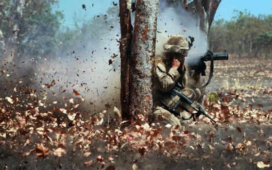 marine, corps, военный, нагнетатель, leaf,