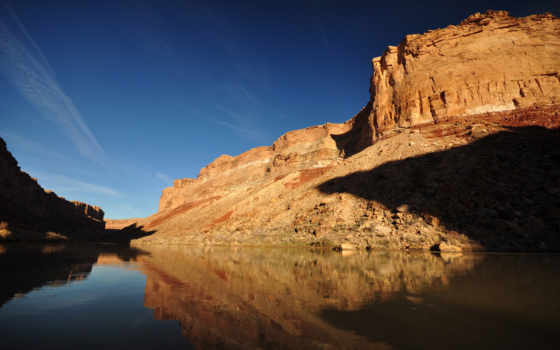 каньон, гранд, arizona, река, colorado, природа, горы, скалы, grand,