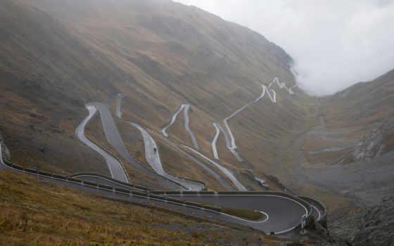 włochy, природа, туман, альпы, italy, tapety, альпы, tapet, горы,