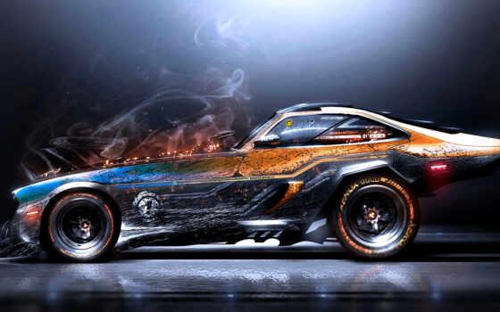 saleem, khyzyl, art, красивый, digital, car, авто, artwork