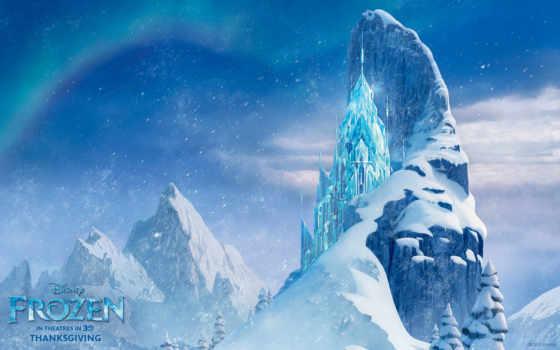 frozen, disney, сердце, холодное, walt, лед, castle,