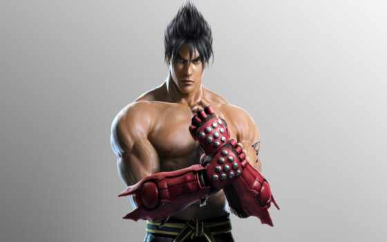 tekken, игры, jin, истребитель, mobile, kazama, art, телефон,