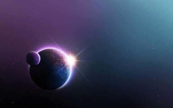 космос, planet, stars, art, ноутбук, mac, луна, mobile,
