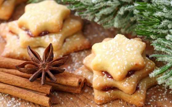 cookie, имбирное, корицей,
