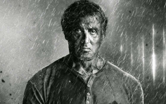 sylvester, stallone, stallon, кровь, black, late, дождь, white, movie, celebrity