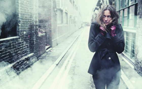одиночка, девушка, холод, fear, тревога, улица,