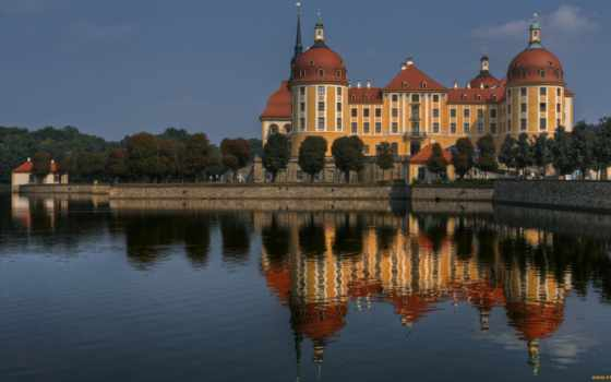 moritzburg, замок, германия, castle, картинку, schloss, морицбург,