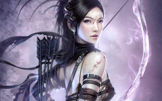 воин, принцесса, fantasy