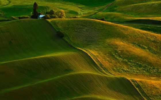 природа, landscape, desktop, зелёный, mountains,