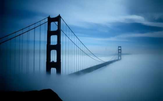 нью, york, francisco, sana, город, дек, famous, бывают, знаменитые, туманы, туман,