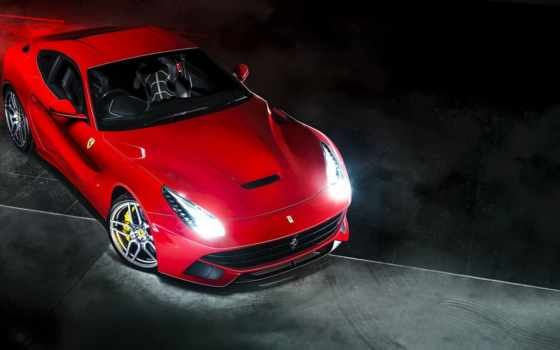 ferrari, автомобили, dark, тюнинг, суперкар, berlinetta, red, car, разделе,