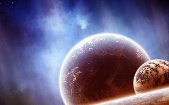 планеты, cosmos, космос, nebula, звезды, art,