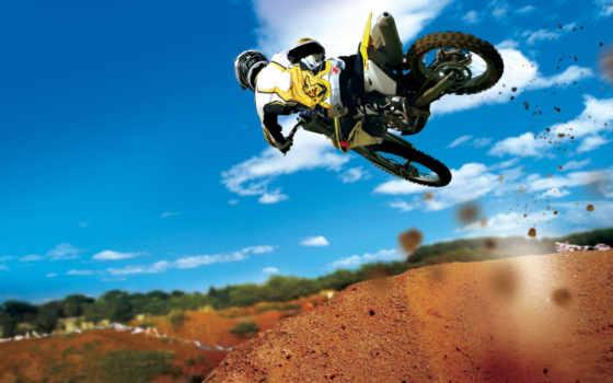 motocross, мотоцикл