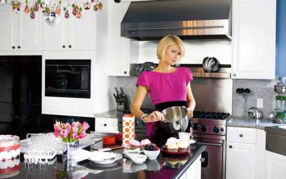 kitchen, кухне, девушка