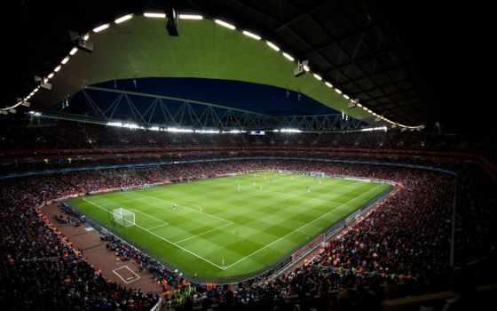 поле, стадион, футбол