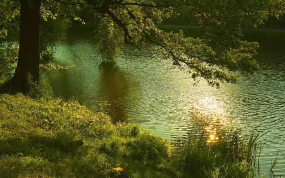 tapety, pulpit, natura, jezioro, природа, darmowe, natury,