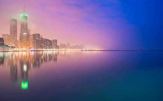 отражение, ночь, озеро, огни, природа, гора, adsense, landscape, adsbygoogle, star